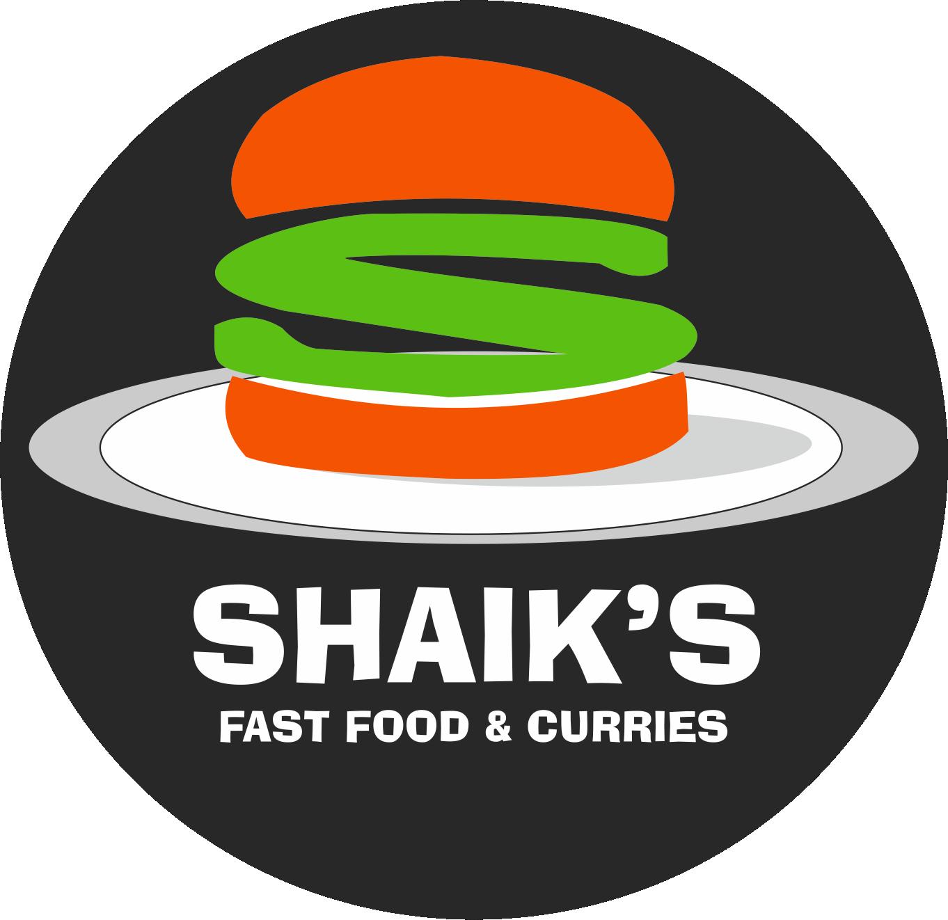 Shaik's Fast Foods Logo